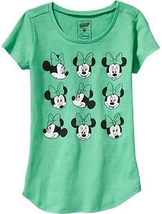 Girls Disney© Minnie Mouse Tees | Old Navy