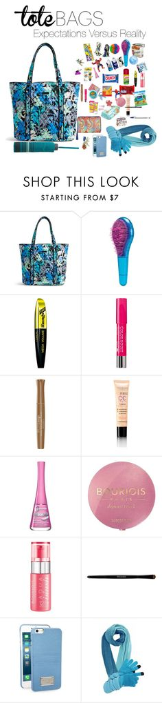 """""""Tote Bags.What's in my bag?What's not in my bag!!!!"""" by malabuenisima ❤ liked on Polyvore featuring Vera Bradley, L'Oréal Paris, Bourjois, MICHAEL Michael Kors, MANGO, women's clothing, women, female, woman and misses"""