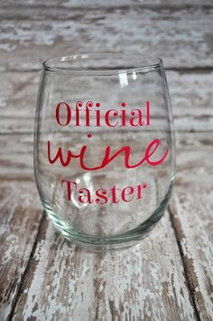 People always asking about the wine youre drinking? Now you can show them its an actual job! Perfect for any wine enthusiast!  Official Wine Taster