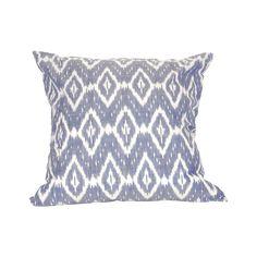 Conchetta 20x20 Pillow Legion Blue,Crema