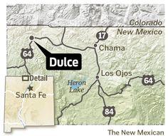 Odd New Mexico Dulce Underground Bottom