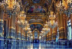 Interior of Opéra de Paris | Incredible Pictures