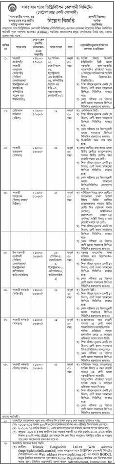 Bakhrabad Gas Distribution Company Limited Job Circular 2016 - Exam Suggestions