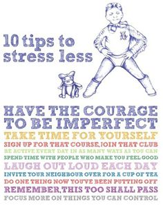 10 Tips to Less Stress