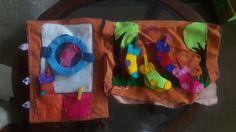 #quietbook #socks #felt #washingmachine #handmade
