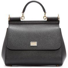 5090ab6128c6 Dolce   Gabbana - Black Large Miss Sicily Bag