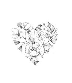 Time Tattoos, Body Art Tattoos, Small Tattoos, Sleeve Tattoos, Flower Tattoo Stencils, Single Rose Tattoos, Petit Tattoo, Family Tattoo Designs, Clover Tattoos