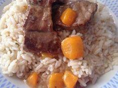 Μοσχαρακι λεμονατο με ρυζι