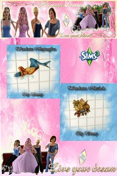 Hallo liebe Community,   hier ist unser heutiges Update es besteht  aus den schönen Wandatoos von Sunny  Viel spaß damit ! Wandtatoo Muscheln http://www.sims3dreams.at/filebase/index.php?page=Entry&entryID=1354 Wandtatoo Meerjungfrau http://www.sims3dreams.at/filebase/index.php?page=Entry&entryID=1352 Liebe Grüße euer Sims Dreams Team