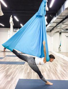 Kurs instruktorski Aerial® jogi, Prowadzi: Monika Łazuk OMG yoga