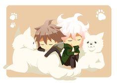 Makoto and Nagito