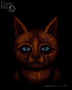 David Piñeles Ilustraciones: Gato #DavidPiñelesIlustraciones #Dibujo #Draw #Ilustracion #Illustration #Digital #Painting #Pintura #Concept #Art #Character #Design #Gato #Cat #Madera #Wood