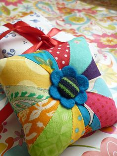 Pin cushion -- by {Leila} Where Orchids Grow, via Flickr