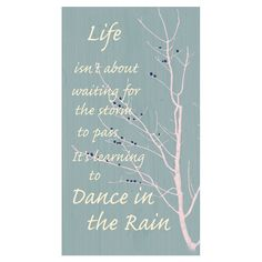 Rain comes and goes, character weathers storms