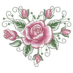 Sketched Roses 06(Sm) machine embroidery designs