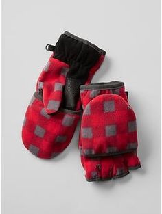 Pro Fleece convertible mittens