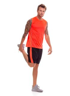 Camiseta Deportiva Hombre - Bronzini Fitness, Mens Tops, T Shirt, Pictures, Fashion, Sports Shirts, Sporty, Athletic Wear, Men
