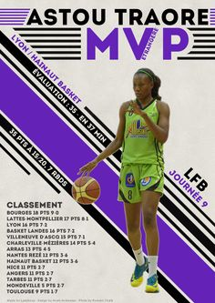 Astou Traore - MVP Etrangère - LFB Journée #9