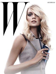 Lindsay Ellingson for W - December 2012