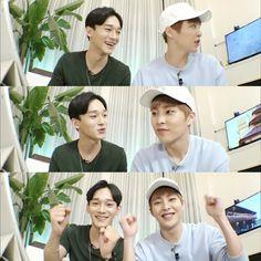 Chen e Xiumin EXO