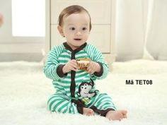 Bộ body cotton cho bé TET08 - Giá 195.000đ