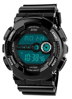 Cool Silicone Waterproof Wrist Watches Nice for Sport ** You can find more details by visiting the image link.