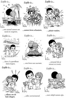 liefde is ...
