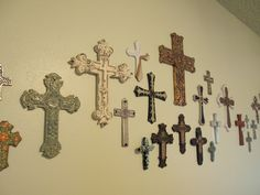 The Grant Life: Wall of crosses