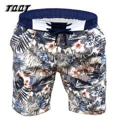 TQQT Shorts Mens Elastic Wasit Boardshort Low Waist Bermuda Print Leaves Shorts Men Regular Plus Short Summer Shorts Mens 7P0108 #Affiliate