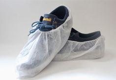 #911 white shoe covers