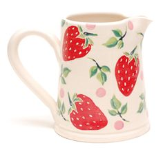 Ours selection of pottery Ceramic Cafe, Ceramic Pottery, Pottery Art, Pottery Painting, Ceramic Painting, Strawberry Pictures, Strawberry Kitchen, Strawberry Decorations, Cute House