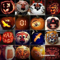 Auburn pumpkins