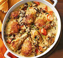 Chicken Fricassee Recipe,How To Make Chicken Fricassee Recipe