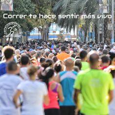 Correr te hace sentir más vivo