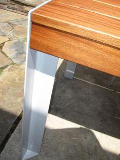 Urban-Rustic Outdoor Table