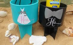 Gift Registry Vinyl Crafts, Fun Crafts, Diy And Crafts, Wedding Sand, Wedding Stuff, Wedding Ideas, Beach Bachelorette, Gift Registry, Silhouette Cameo Projects