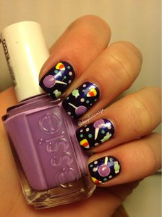 Day of the dead nails design | Nail Obsession | Nail art ...