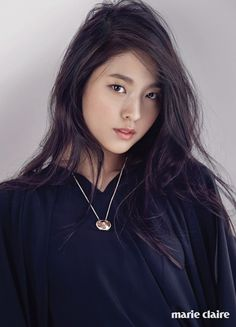 AOA Seolhyun in the next issue of the magazine Marie Claire Korean Beauty, Asian Beauty, Kim Seolhyun, Kim Chanmi, Brown Blonde Hair, Asian Celebrities, Ombre Color, Girl Bands, Beautiful Asian Women