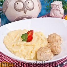 Рецепты детского сада / Меню недели
