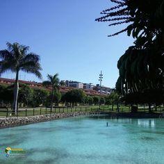 Parque Juan Pablo II in Las Palmas de #grancanaria Juan Pablo Ii, Canario, Home And Away, Capital City, River, Island, Holidays, Instagram Posts, Outdoor