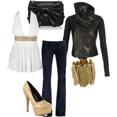 Leather and Gold