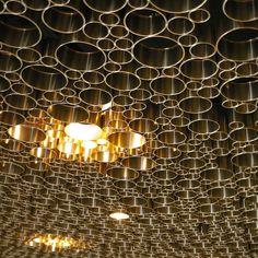 Alianz Arena Ceiling in Munich, Germany by Herzog de Meuron