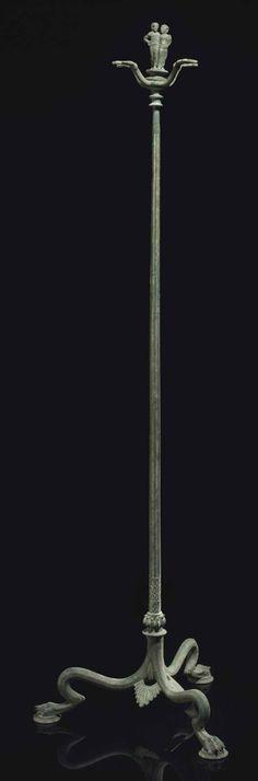 AN ETRUSCAN BRONZE CANDELABRUM CIRCA 450 B.C.    Christie's