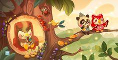 Evening Tea - Animal Crossing New Leaf by ethe.deviantart.com on @deviantART