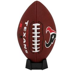 Houston Texans Game Time Official Size Football