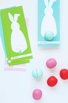 EOS Lip Balm bunny gift