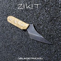 Bladetricks Custom Zikit knife #edc #knifemaker