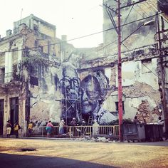 Fusing two distinctively different styles and mediums has been highly beneficial, and impactful for artists JR, and Jose Parla.  The two are currently decorating numerous walls in Havana, Cuba for JR's ongoing project The Wrinkles of the City that has visited multiple cities over the last year.