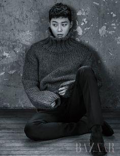 Park Seo Joon in Harper's Bazaar Korea January 2017 Korean Star, Korean Men, Korean Actors, Asian Men, Korean Actresses, Park Hyung Sik, Park Seo Joon, Jung Hyun, Actor Model