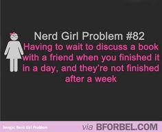 Nerd Girl problem...